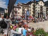 <h5>MARATHON DU MONT-BLANC 2013</h5><p>Place de la mairie à Chamonix au Marathon du Mont-Blanc 2013</p>